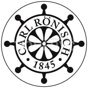 Первая версия логотипа фабрики Ronisch