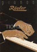 Обложка каталога фабрики Rosler, 1959 год