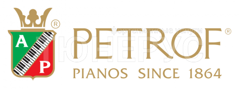 Логотип фабрики Petrof