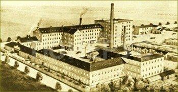 Вид на фабрику Petrof