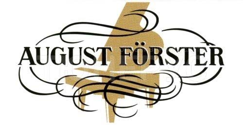 Логотип фабрики August Forster: tunerus.ru/stati/istoriya_fabriki_august_forster
